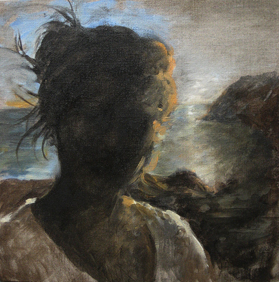 Oil Painting Silhouette